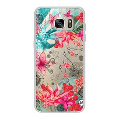 Samsung Galaxy / LG / HTC / Nexus Phone Case - TROPICAL GARDEN HTC One... ($40) ❤ liked on Polyvore featuring accessories, tech accessories and android case