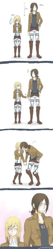 Ymir x Christa - Attack on Titan