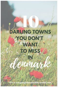 Which are the most darling villages in Denmark? These tiny Danish towns will charm you and court you with cobblestoned streets and half-timbered houses. Visit Denmark, Denmark Travel, Reisen In Europa, Stockholm Sweden, Copenhagen Denmark, Europe Destinations, Holiday Destinations, Aarhus, Travel Light