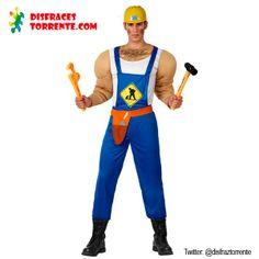 Disfraces Carnaval 2015 chicos · Disfraz de Albañil Musculoso Un disfraz de  albañil con unos músculos de escándalo a5aaf9a0ad05