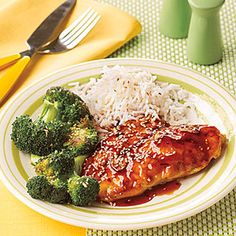 Honey-Sesame Chicken Cutlets | MyRecipes.com I found this in an All You magazine, everyone liked, we will make it again.