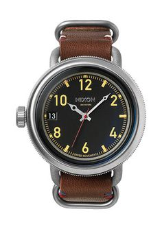 The October Leather   Men's Watches   Nixon Watches and Premium Accessories