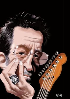 Eric Clapton ..FOLLOW THIS BOARD FOR GREAT CARICATURES OR ANY OF OUR OTHER CARICATURE BOARDS. WE HAVE A FEW SEPERATED BY THINGS LIKE ACTORS, MUSICIANS, POLITICS. SPORTS AND MORE...CHECK 'EM OUT!!