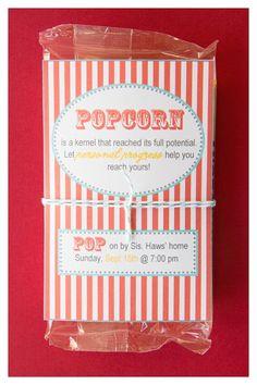 Personal Progress: Personal Progress Popcorn
