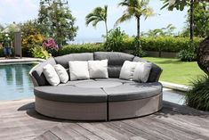 Outdoor sofa beds 2018 / 2019 outdoor sofa and daybed best outside sofa bed outdoor furniture sleeper sofa outdoor rattan sofa bed outdoor sectional sofa L bed Outdoor Lounge, Outdoor Couch, Outdoor Seating, Outdoor Wicker Furniture, Lounge Furniture, Cheap Furniture, Garden Furniture, Hardwood Furniture, Sofa Design