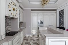 A flat in an American classic style – Maria Green – Interior Designer Classic Home Decor, Classic Interior, Classic House, Luxury Interior, Classic Style, Interior Design, Lamp Design, Design Projects, Kitchen Design