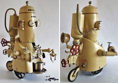 Amazing Steampunk Art From Trash By Artūras