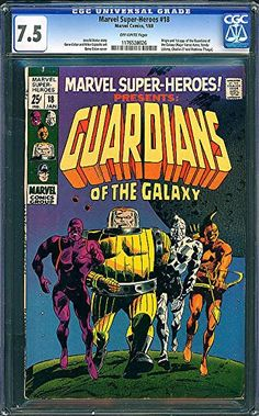 Marvel Super Heroes #18 First Guardians of the Galaxy CGC 7.5 @ niftywarehouse.com