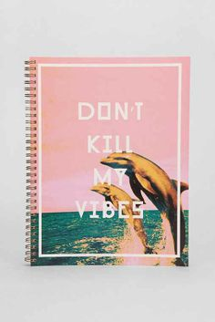 Vibes Spiral Notebook - Urban Outfitters