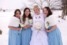 Ashley and Justin had a beautiful winter wedding with the cutest 2 little flower girls. All the party was so full of warmth and fun!  I did Ashley, her bridesmaids and both flower girls.