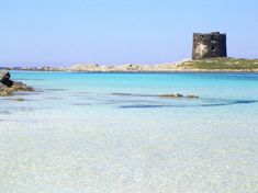 """La Pelosa"" beach Sardinia island Italy"