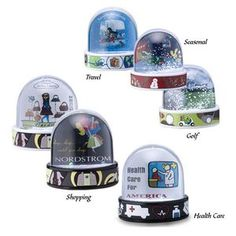 Round Dome Water Globe/ Photo Frame with 2D Dimensional PVC Base