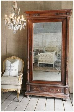 great piece with mirror . Would look gorgeous refinished with paint ! Or new stain!  Looks great like it is!!