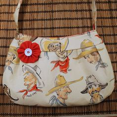 Buttercup bag / purse made from vintage by Enchantingcrafts, $21.50