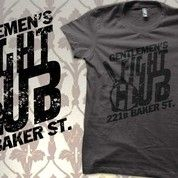 Baker Street Fight Club!!! I NEED THIS!!!