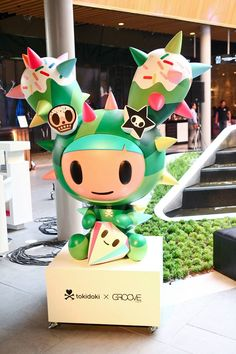 CentralWorld with CG+ Presents tokidoki Art Installation & Exhibition in Thailand | tokidoki
