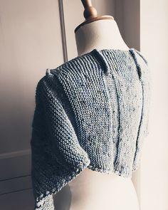 Ravelry: Tusk pattern by Anni Howard Ravelry, Shawl, Flow, Crop Tops, Knitting, Pattern, Beauty, Women, Fashion