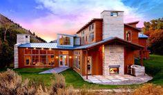 CO house w/ IN limestone