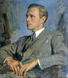 Leslie Howard (Ashley Wilkes in Gone With the Wind) by Reginald Grenville Eves
