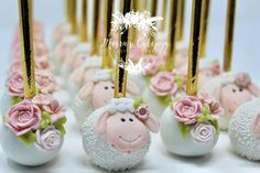 """A baby fills a place in your heart you never knew was empty."" #babylove #babyshower #cakepopfavors ..."