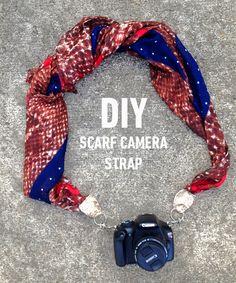 DIY camera strap. Read how-to: http://blog.swell.com/DIY-camera-strap