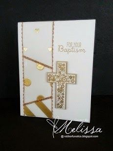 Stampin Up! Blessed by God by Melissa Davies @ rubberfunatics