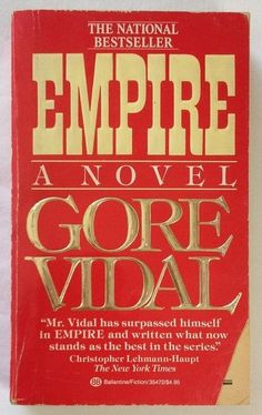 Empire A Novel by Gore Vidal (1988, Paperback)