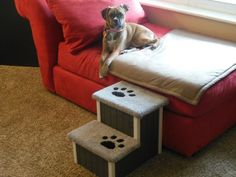 Dog-Cat Steps 15 High Pet Stairs Perfect for by HamptonBayPetSteps