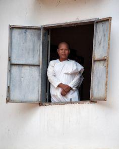 White Robe Nun, Cambodia Image by Danielle Lancaster Nun, Lancaster, Articles, Image