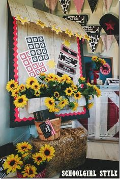 Bulletin board ideas from Schoolgirl Style