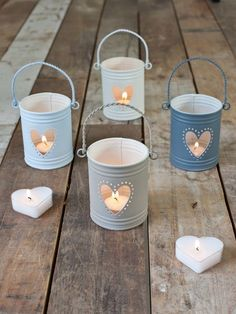 I find these candles so sweet! Nice Valentines day gift ('You light up my life!)