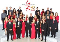Young and the restless 2013 cast.  This is my all time favorite soap opera.