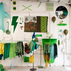 KOLOROWO | United Colors of Benetton Pop up store - New York Used to be Gaseteria gas station on Houston