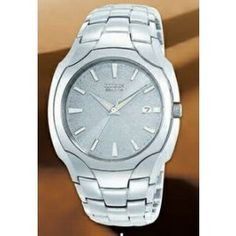 Citizen's Eco-Drive Men's Stainless Steel Watch w/ Round dial