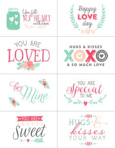 valentine's day printable story