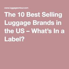 The Best Carry-On Luggage | Salsa, Travel and Carry on luggage