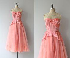Vestido de Billet-Doux  Vintage 1940s formal vestido por DearGolden