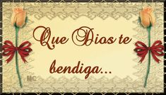 DIOS TE BENDIGA SIEMPRE | IMÁGENES SALUDOS TE BENDIGA... - IMÁGENES BONITAS ® 1001 fotos con frases Religious Images, Daughter Love, Gods Love, Messages, Amen, Gifs, Blessings, Short Hair, Catholic
