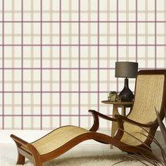 Plaid Russet Wallpaper by Graham & Brown