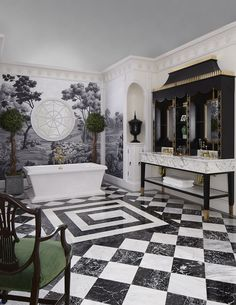 Southern Classic by DXV Designer Susan Jamieson Dream Bathrooms, Dream Rooms, Beautiful Bathrooms, Washroom Design, Bathroom Design Luxury, Glamour Décor, Hollywood Glamour, Estilo Colonial, Bathroom Spa