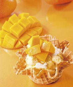 コールドストーンから、宮古島マンゴーの生フルーツショートケーキが新発売   ニュース - ファッションプレス