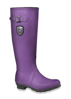 Cute rubber boots