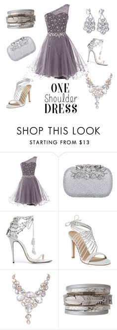 """""""Cocktail party 🍸🍸🍸"""" by lilmya1006 ❤ liked on Polyvore featuring Marchesa and Lola Cruz"""