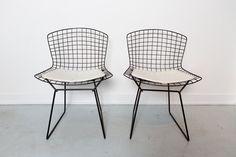 Set of Bertoia Side Chairs by MatthewRachman on Etsy