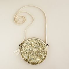 Glitter bag. It's for little girls but I would totally rock the ish out of it as well!
