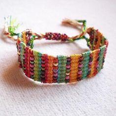 Silk and Bead Affinity Bracelet II   Craftsy