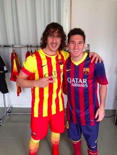 "Puyol : ""...mais je suis avec Messi et Mascherano"" - http://www.actusports.fr/112389/puyol-mais-je-suis-avec-messi-et-mascherano/"
