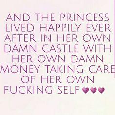 Yep that's me!! Living and loving the single life.