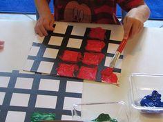 piet mondrian art for kids - Google Search