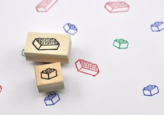 Psst! Dont forget the ink: https://www.etsy.com/listing/264576429/high-quality-mini-ink-pad-select-a-color  The stamped image of the larger stamp is 1